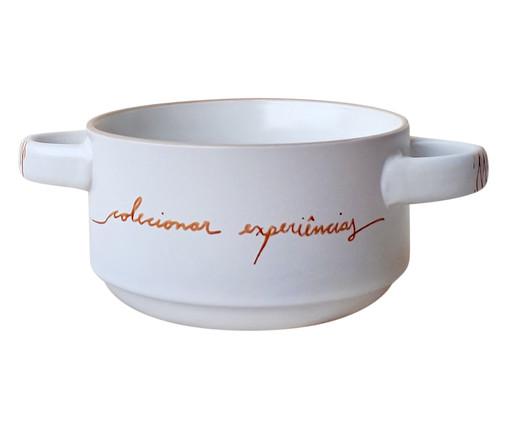 Panelinha em Porcelana Colecionar Experiências - Branco, Branco | WestwingNow