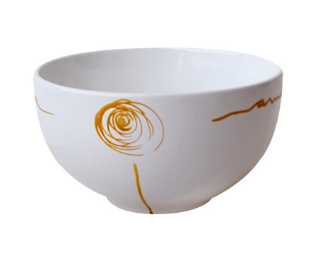 Bowl em Porcelana Flor Amarela | WestwingNow