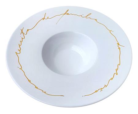 Prato em Porcelana Risoto do Coração | WestwingNow