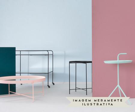 Mesa de Apoio Pocket - Rosé | WestwingNow