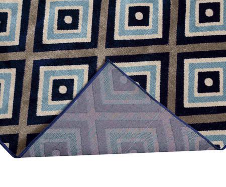 Tapete Passadeira Antuérpia Gali - Azul, Cinza e Branco   WestwingNow