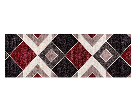 Tapete Passadeira Antuérpia Ray - Vermelho e Bege | WestwingNow