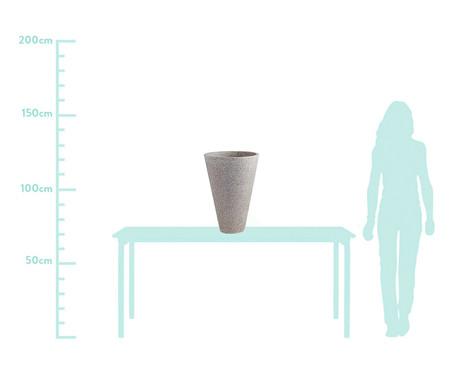 Jogo de Vasos de Piso Mali - Cinza | WestwingNow