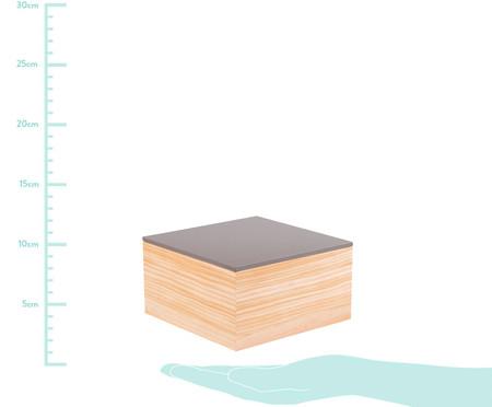 Caixa Decorativa Cortês - Cinza | WestwingNow