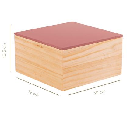 Caixa Decorativa Cortês - Rosa | WestwingNow