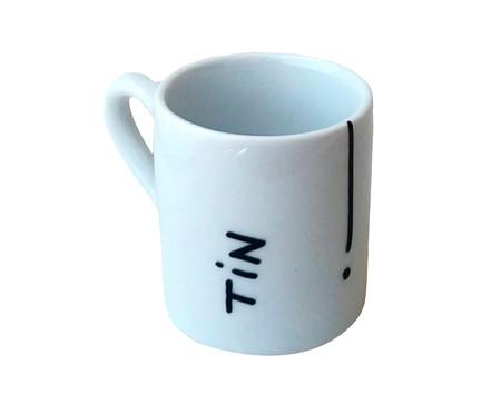 Jogo de Xícaras de Café em Porcelana - Branco | WestwingNow