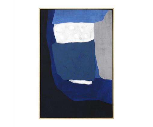 Quadro com Pintura Abstrato Davi - 93X63cm, Colorido | WestwingNow