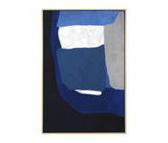 Quadro com Pintura Abstrato Davi - 93X63 | WestwingNow