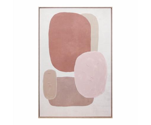 Quadro com Pintura Abstrato Liz - 123X83cm, Colorido | WestwingNow
