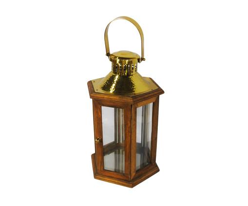 Lanterna de Madeira Martin, Colorido | WestwingNow