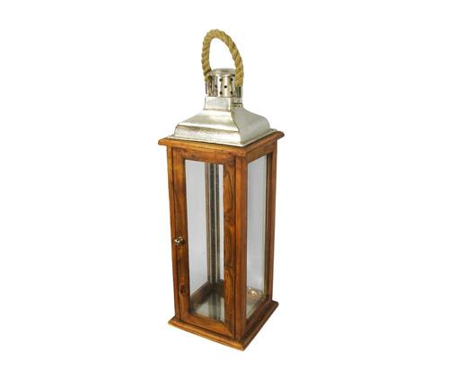 Lanterna de Madeira Garcia l, Colorido   WestwingNow