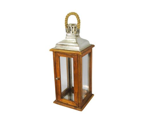 Lanterna de Madeira Garcia l, Colorido | WestwingNow