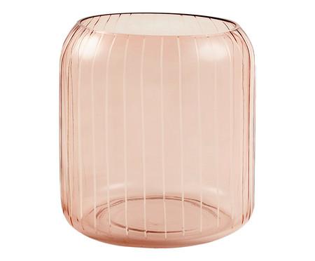 Vaso de Vidro Heidi l - Rosé | WestwingNow