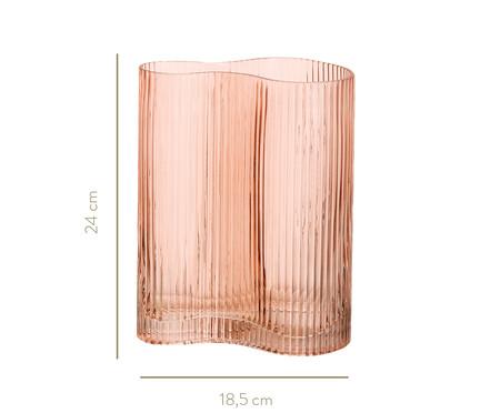 Vaso de Vidro Silvia - Rosa | WestwingNow