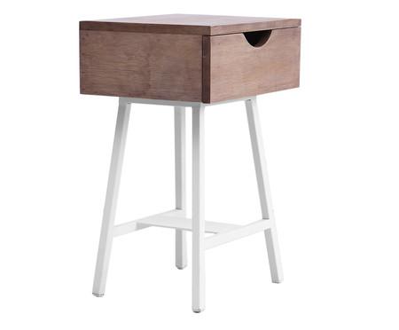 Mesa de Cabeceira Ceci - Branca | WestwingNow