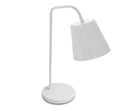 Luminária de Mesa Lidia Branco  - Bivolt   WestwingNow