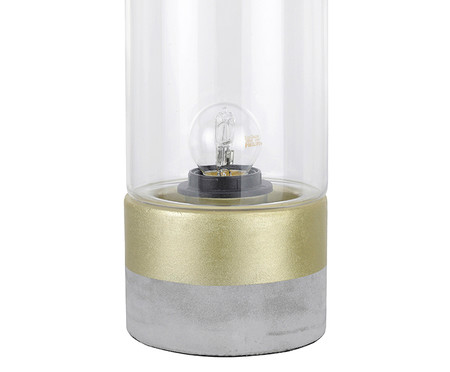 Luminária de Mesa Lia Dourada - Bivolt | WestwingNow