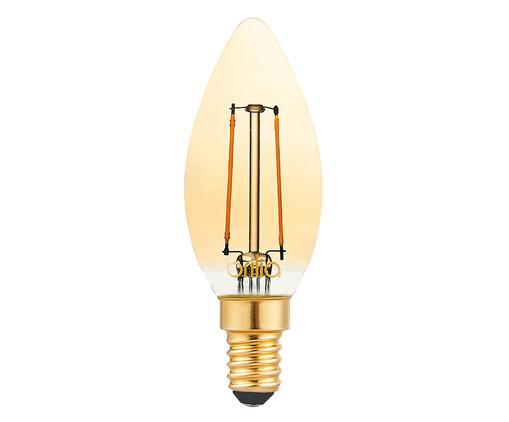 Lâmpada de Led Filamento Vela 2,5W Iara Luz Amarela - 220V, Amarela | WestwingNow
