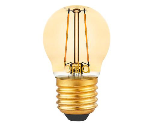 Lâmpada de Led Filamento Buldo 2,5W Yuri Luz Amarela - Bivolt, Amarela   WestwingNow