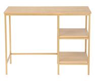 Escrivaninha Éssepê - Dourada | WestwingNow