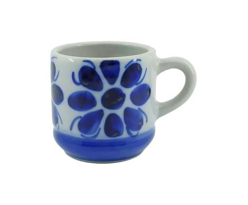 Xícara de Chá Colonial - Azul, Azul   WestwingNow