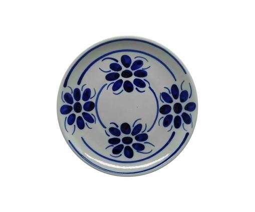 Prato para Sobremesa Floral  - Azul, Azul | WestwingNow