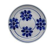 Prato Fundo Floral - Azul | WestwingNow