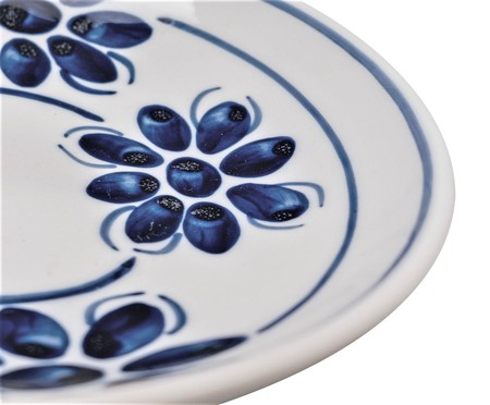 Prato Raso Floral - Azul | WestwingNow