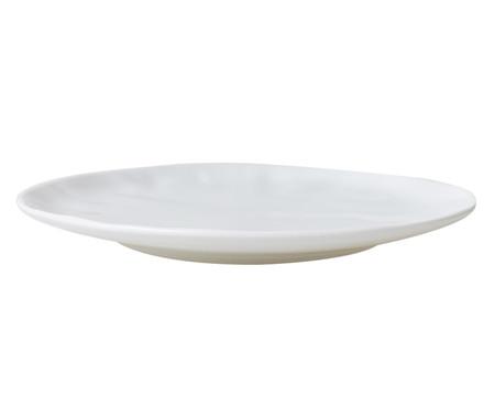 Jogo de Pratos para Sobremesa em Porcelana Amboise - Branco | WestwingNow