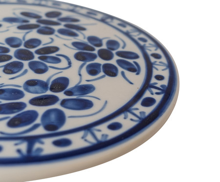 Descanso de Panela em Porcelana Colonial - Azul | WestwingNow