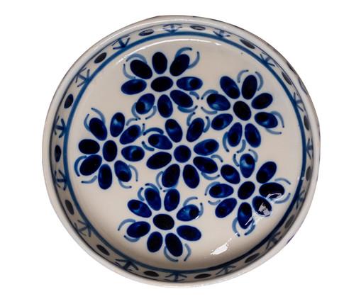 Bandeja para Petiscos em Porcelana Colonial - Azul, Azul   WestwingNow