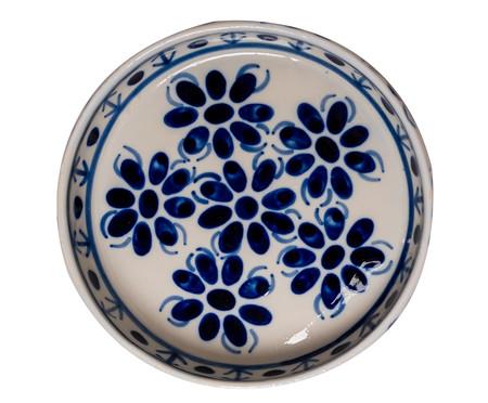 Bandeja para Petiscos em Porcelana Colonial - Azul | WestwingNow