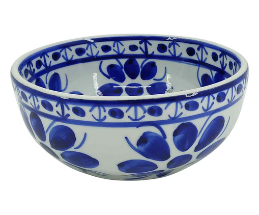 Tigela em Porcelana Colonial - Azul, Azul   WestwingNow