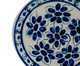 Prato para Sobremesa em Porcelana Colonial  - Azul, Azul | WestwingNow