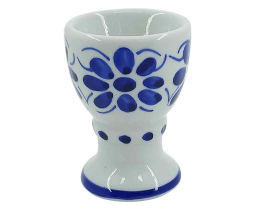 Suporte para Ovo em Porcelana Colonial - Azul, Azul | WestwingNow
