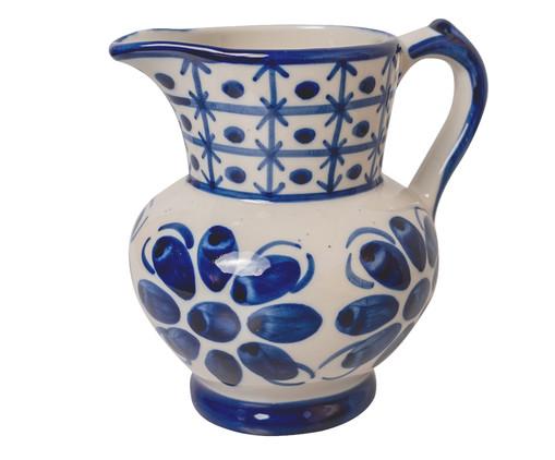 Jarra em Porcelana Colonial - Azul, Azul   WestwingNow