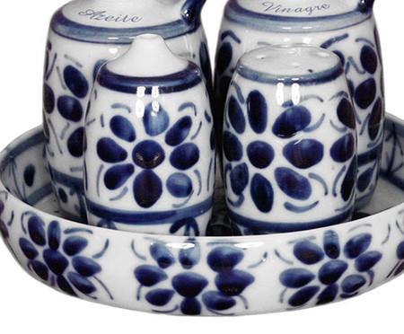 Galheteiro em Porcelana Colonial - Azul | WestwingNow