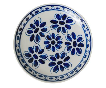 Prato Raso em Porcelana Colonial  - Azul | WestwingNow