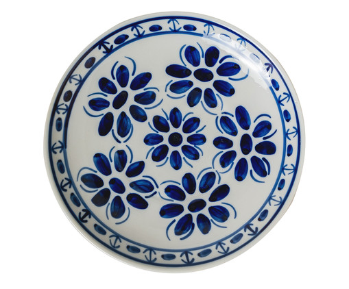 Prato Raso em Porcelana Colonial - Azul, Azul | WestwingNow
