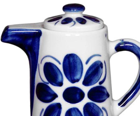 Bule em Porcelana Colonial  - Azul   WestwingNow