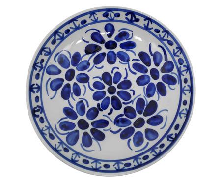 Prato Fundo em Porcelana Colonial - Azul | WestwingNow