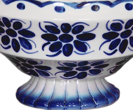 Fruteira em Porcelana Colonial - Azul | WestwingNow