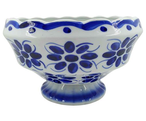 Fruteira em Porcelana Colonial - Azul, Azul | WestwingNow