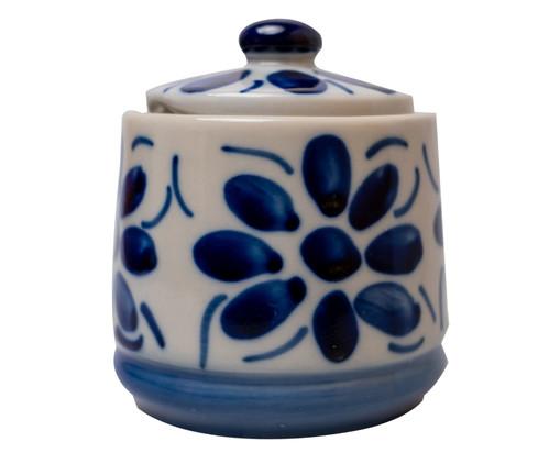 Açucareiro em Porcelana Colonial - Azul, Azul | WestwingNow