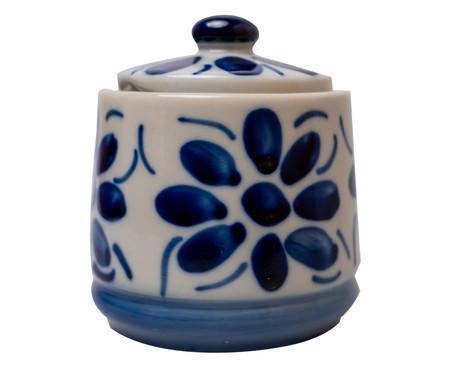 Açucareiro em Porcelana Colonial - Azul | WestwingNow