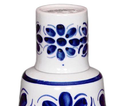 Moringa com Copo em Porcelana Colonial - Azul | WestwingNow