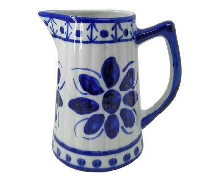 Jarra em Porcelana Colonial Duo - Azul | WestwingNow