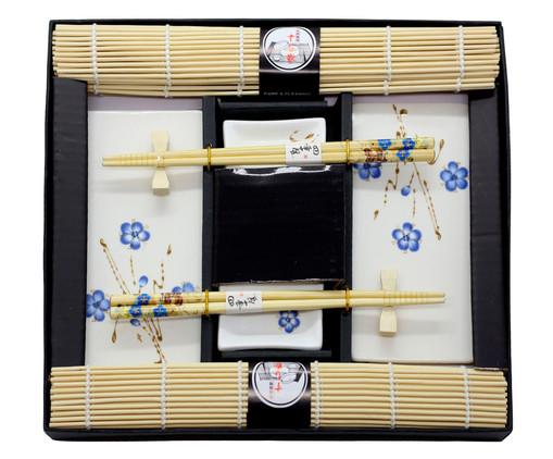 Jogo para Sushi Miro - 02 Pessoas, Azul   WestwingNow