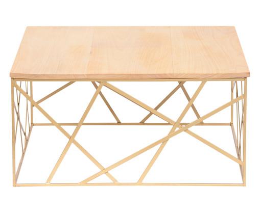 Mesa de Centro Nova York - Dourada, Dourado, Natural | WestwingNow