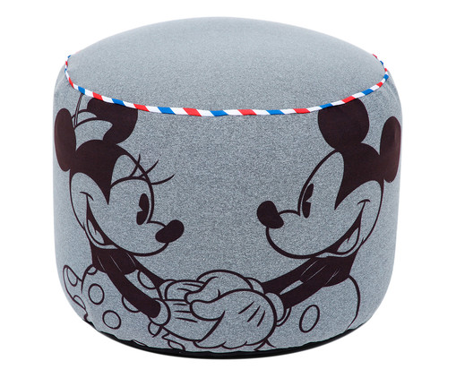 Puff Rolha Vintage Mickey, Colorido | WestwingNow